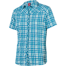 Löffler KA Trekking Bluse Damen topaz blue